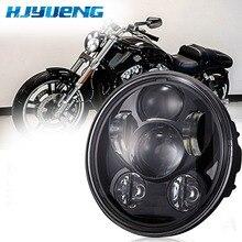 Daytime Running Lights For Dyna Street Bob Harleys Breakout sportster 883 XL 1200 Original 5-3/4 Projector LED Headlamp