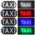 [Kalen Mas] Lámpara indicadora Taxi Taxi Taxi Luz Llevada Del Parabrisas Parabrisas Universal Súper Ligero