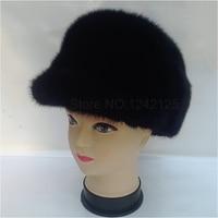 New Parent Child Men Female Winter Fashion Warm Luxury Noble Real Genuine Leather Whole Mink Fur