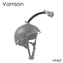 Vamson для Gopro аксессуары для шлема удлинитель комплект селфи Фото Крепление для Gopro Hero 7 6 5 4 для Xiaomi для Yi для SJCAM VP407