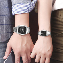2019 new hot trend fashion couple watch mens luminous ladies steel belt