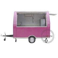Dostosowane KN-290B przyczepa żywności wózek na zakupy wózek do przewozu żywności na sprzedaż w dubaju