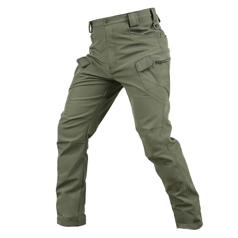 Militaire chasse polaire tactique hommes peau de requin doux Shell armée militaire pantalon imperméable thermique hiver Sport en plein air pantalon