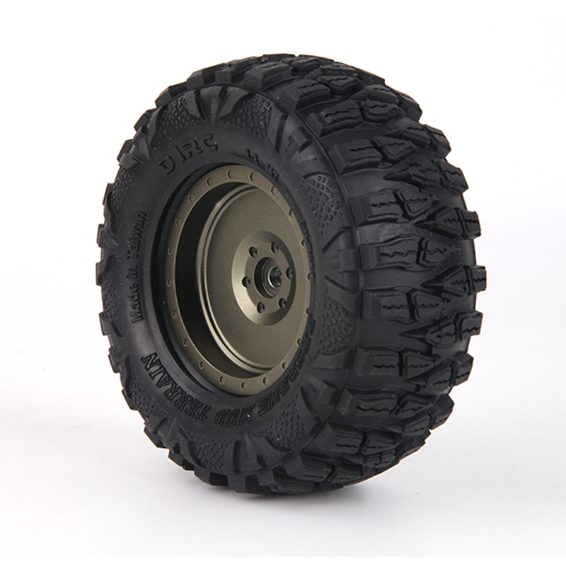 4PCS D1RC Super Grip 2 2 Inch Tires 120mm tires FOR 1 10 SCALE Axial 90018