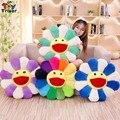 Плюшевая игрушка-Подсолнух Smile Sun Flower, мягкая кукла, кошка, подушка для питомца, коврик, подушка для дома, спальни, автомобиля, магазина, ресто...