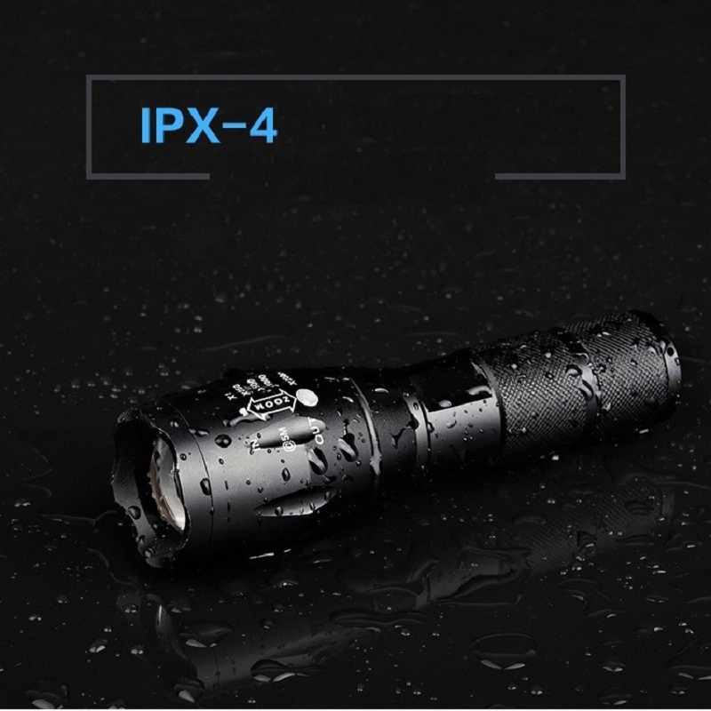 AAA 5-Mode CREE XM-L T6 Tactical Flashlight Waterproof Torch LED Flashlight Handy Police Torch Lamp Zoomable Outdoor Flashlight