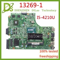 KEFU 13269 1 For DELL inspiron 3542 DELL 3542 3442 5749 motherboard 13269 1 PWB FX3MC REV A00 motherboard I5 4210 PM