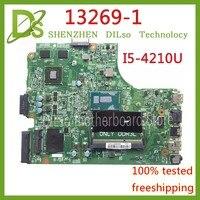 KEFU 13269 1 For DELL inspiron 3542 DELL 3542 3442 5749 motherboard 13269 1 PWB FX3MC REV A00 motherboard I5 4210U GT820M PM