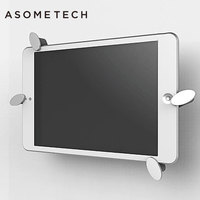 Universal 7 9 12 Inch Tablet Wall Mount Holder Stand Aluminum Alloy 360 Rotation Bracket For