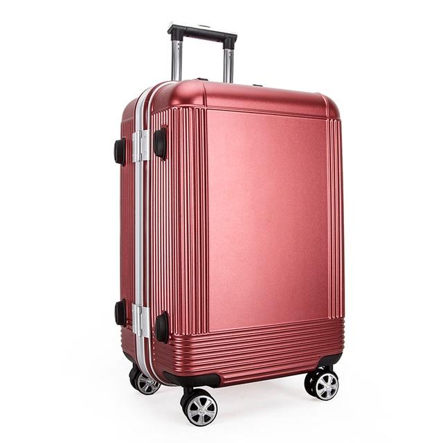 """2016 20 """"24 дюйм(ов) экструзии ABS + PC алюминиевая рама студенты троллейбус случае Поездки багаж прокатки чемодан Бизнес-Интернат коробка"""
