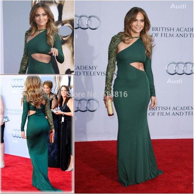 Green Dress Celebrity