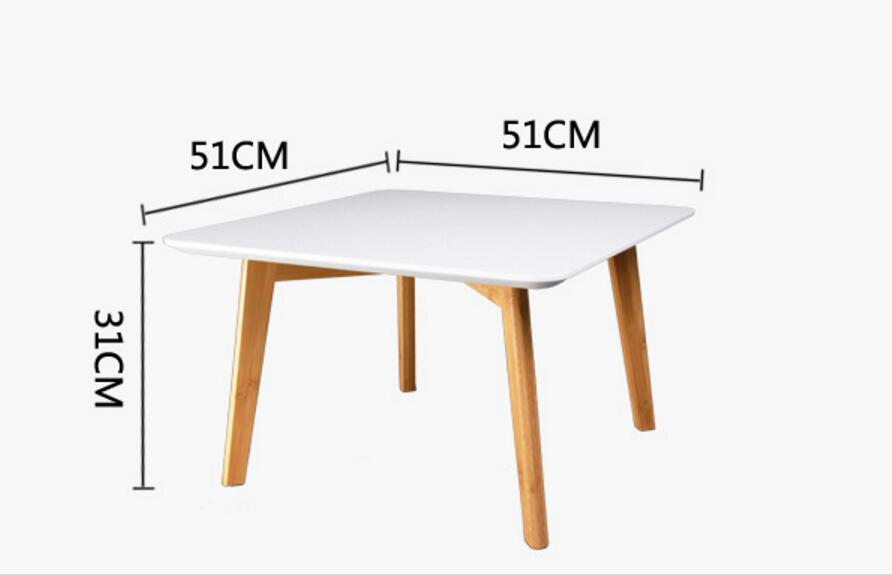 51*51*31CM Eco-friendly bamboo Multi-purpose Coffee Table Tea table Side tables цена