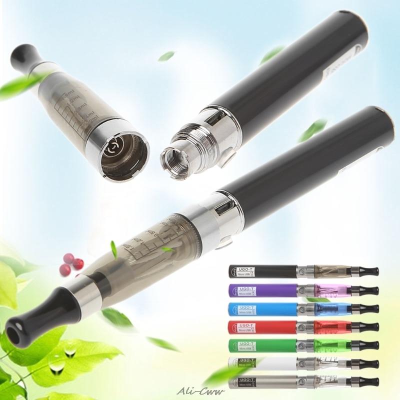 Для эго-т CE4 комплект 650 мАч батарея сторона USB зарядка электронная сигарета Атомайзер