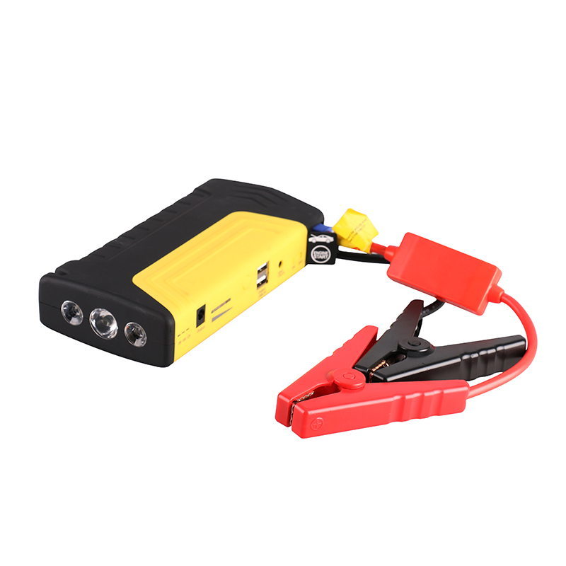 2016 Multi-function jumpstarter Portable Emergency Booster Mini Car Jump Starter Power Bank Charger For 12v Petrol Diesel Car