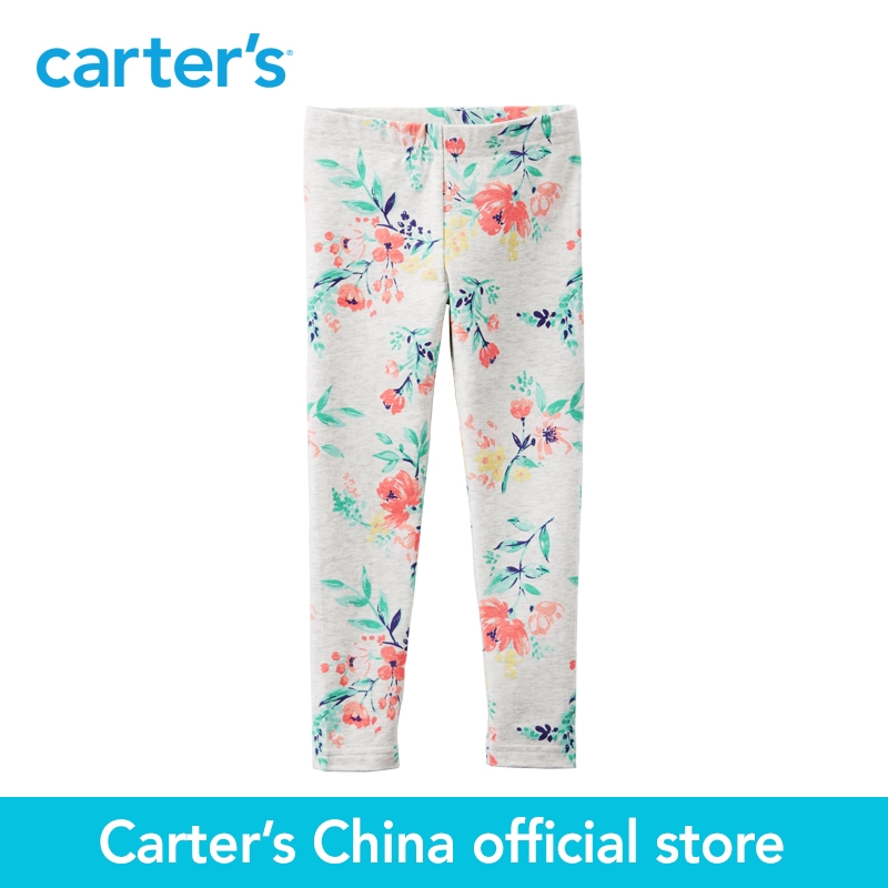 30a51373e11f98 Carter's 1pcs baby children kids Floral Print Leggings 258G305, sold by  Carter's China official store