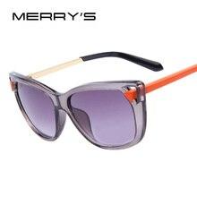 Женские брендовые дизайнерские солнцезащитные очки кошачий глаз, модные ретро женские солнцезащитные очки кошачий глаз, металлические ножки UV400