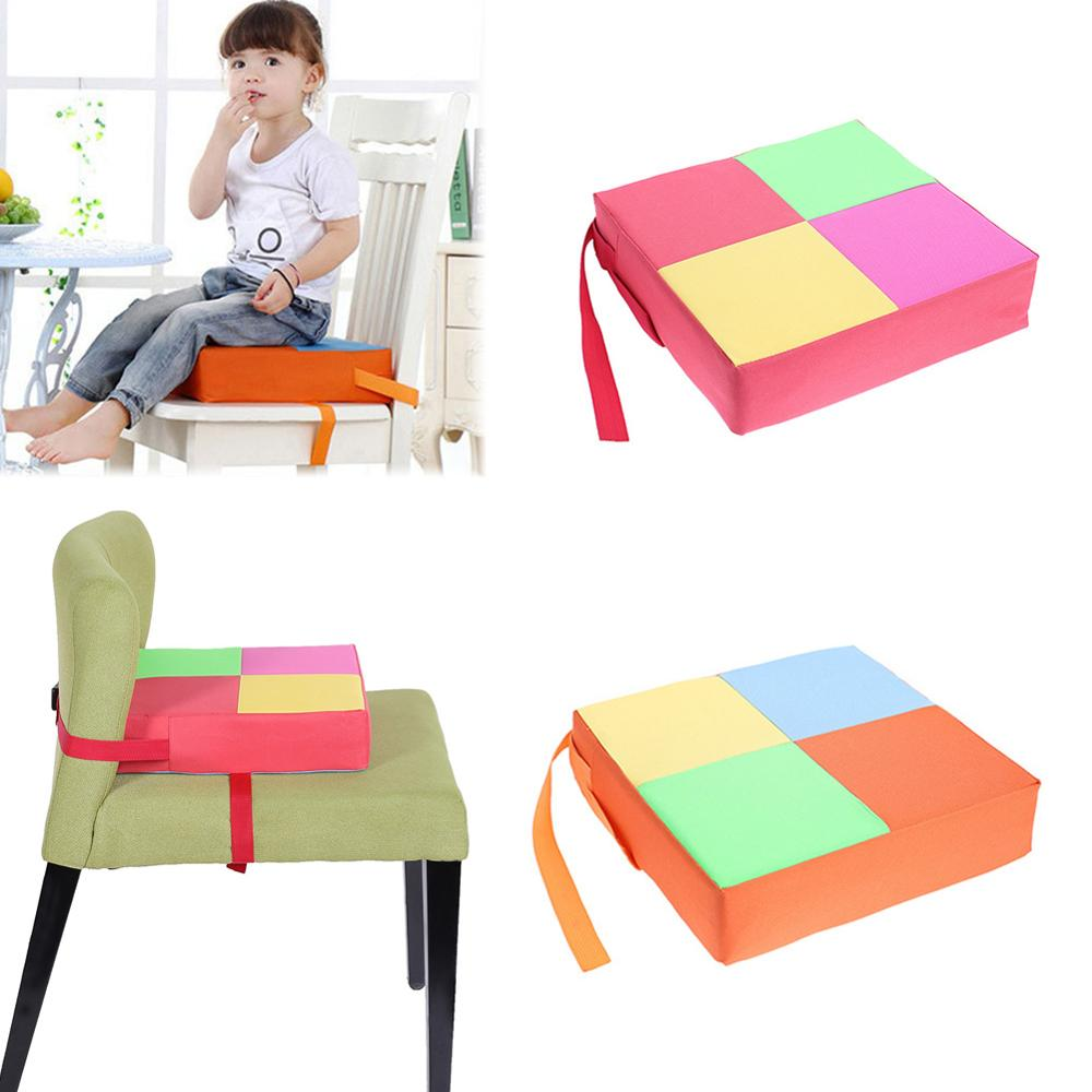 Children Increased Chair Pad Soft Baby Dining Adjustable Removable Washale Cushion Safety Chair Booster Cushion Anti-slip Pad