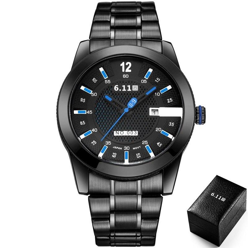 TIMI 2018 Men Fashion Solar-powered watch Full Steel Clock Army Military Outdoor Quartz Wrist Watch Casual Sports Watches NO.003