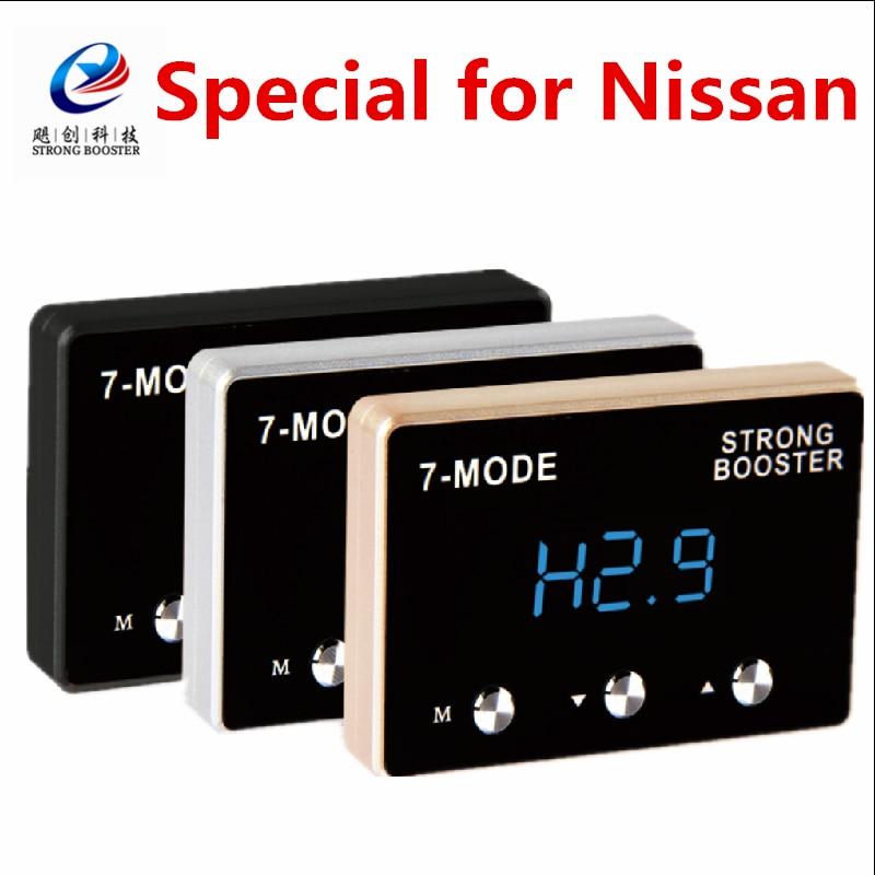 7-mode Electronic Throttle controller JC-679 speical para Nissan TIIDA, SYLPHY,