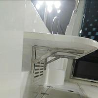 2pcs Deck Table Bracket Wall Mounted Folding Table Shelf Support Bracket Marine Stainless Steel
