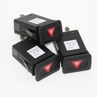 3pcs OEM interruptor de advertencia flash interruptores abeto para 4 VW Bora Golf Mk4 1J0 953 235 C 1J0 953 235c