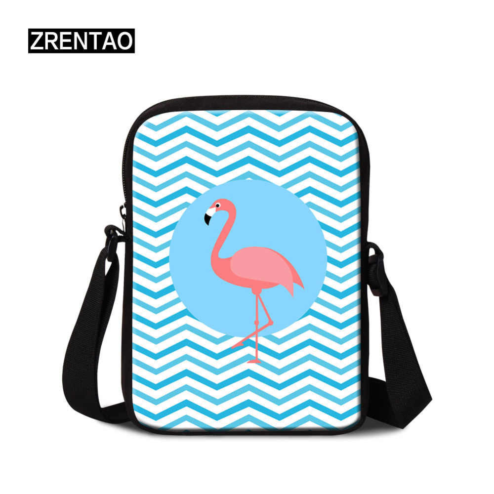 Drop Shipping Animal Cartoon Prints Women Portable Flap Shoulder Messenger Corssbody Bag Teenage Boy Girls Mini Casual Briefcase
