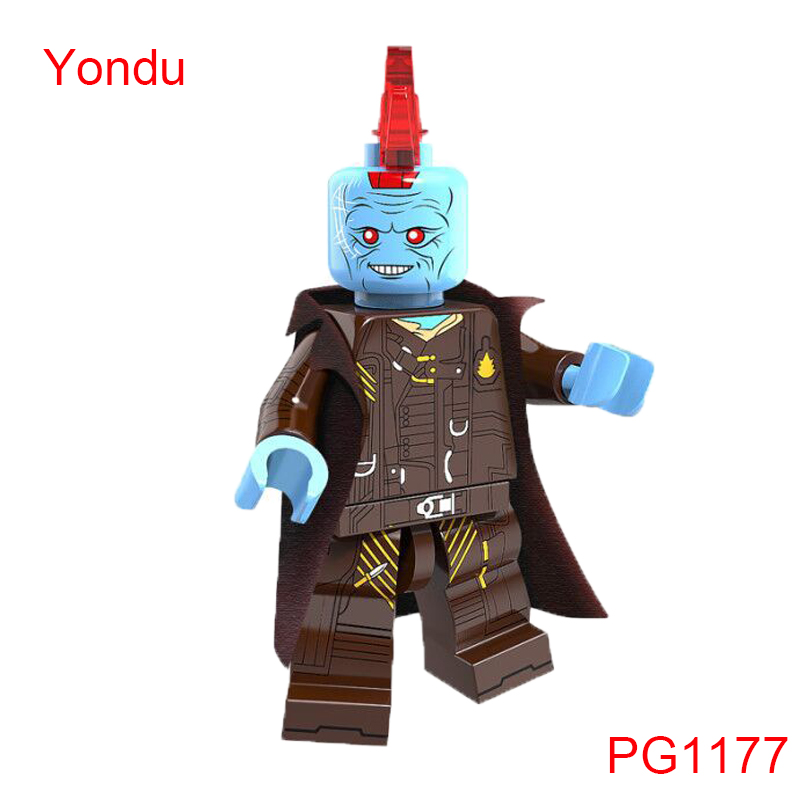 Guardians Of The Galaxy Building Blocks Yondu Marvel Super Heroes X-Men Star Wars Mini Dolls Toys Hobbies Pg1177