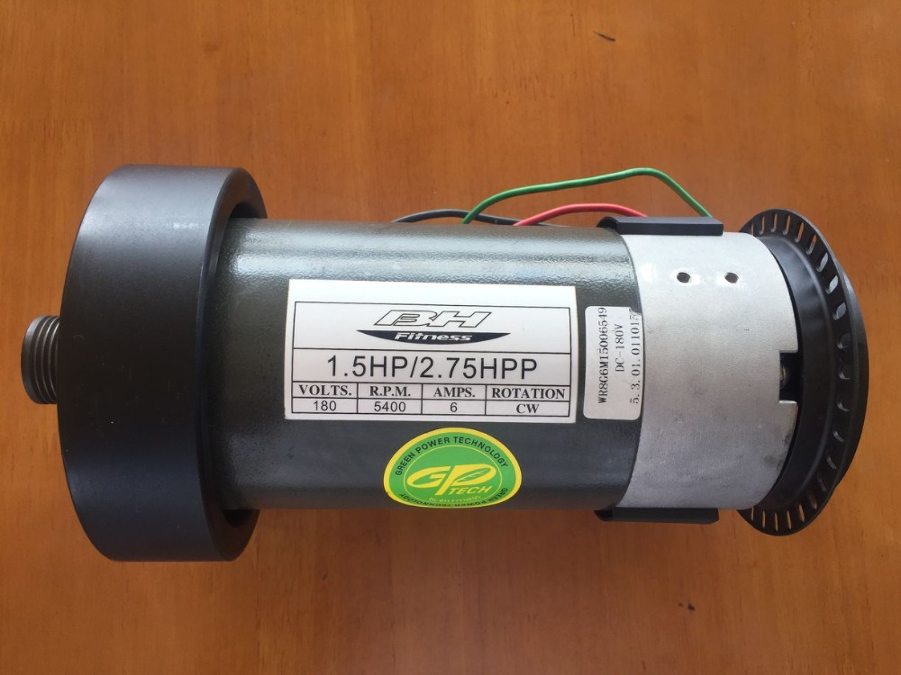 Fast Shipping DC motor 1.5HP 2.75HP suit for treadmill model:6415/6416/6418/6419/6430 fast shipping jm15 004 1 5hp dc motor for treadmill