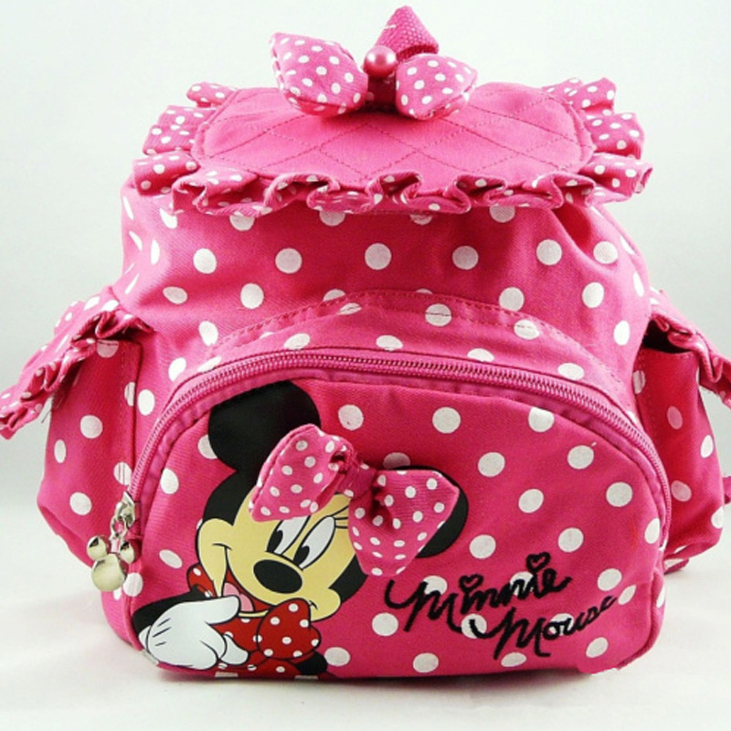 Cute Children School Bags Kids Backpack Girls Pink Lovely Bow Book Bag For Kindergarten Preschool Age Baby In From Luggage On