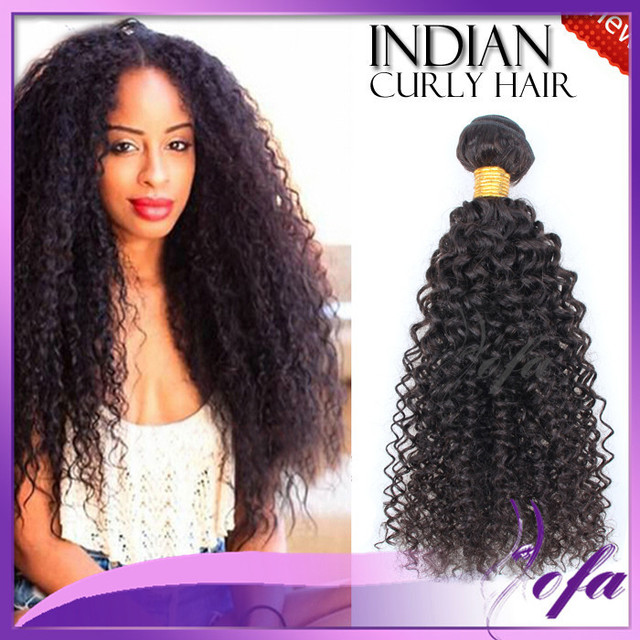 9a 100 Indian Curly Human Hair Brazilian Remy Brands Long Afro Weave