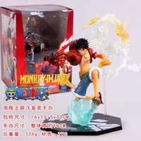 14 17cm High Japan Anime One Piece PVC Action Figures Collection Model Toys Luffy ZERO Portgas D Ace Figures With Box For Gift#D