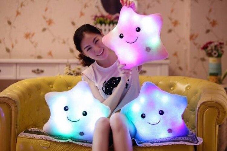 Плюшевые световые подушки фото