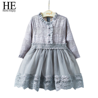 Clothes For Girls Birthday Dresses For Kids 2018 Autumn Child Girl Costume Long Sleeved Cute Lace