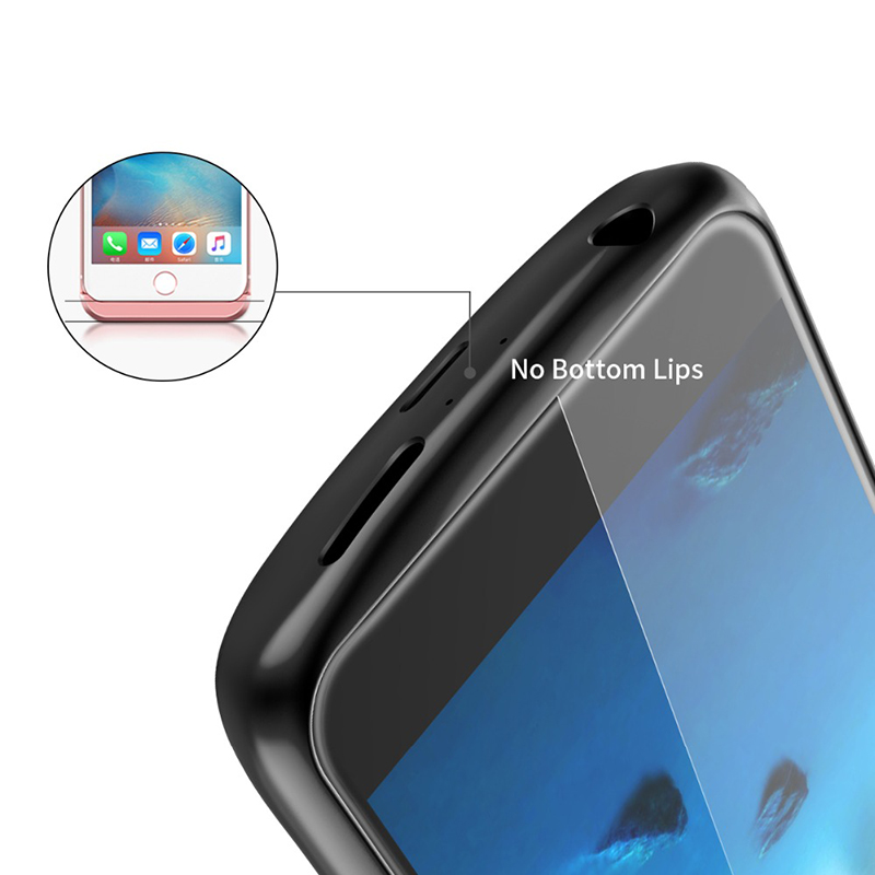 Tmoxen Power bank Battery External Wireless Charging Phone Cover For Huawei honor 8 4700mAh Battery Charger Case