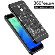 Для meizu m5 мини case для meizu m5 примечание задняя крышка обложки чехлы для meizu m5 антидетонационных броня кремния телефон защиты мужской