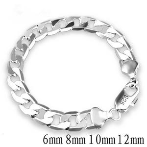 silver bracelets for men Stamp