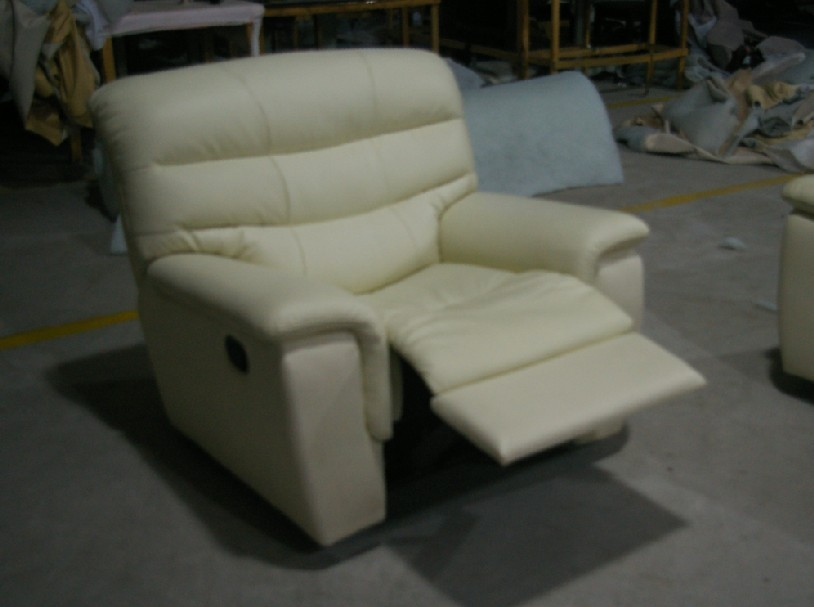2015 sala de estar sofá moderno sofá reclinable sofá de cuero con - Mueble - foto 5