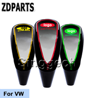 ZDPARTS Car Gear Shift Knob Touch Sensor LED Light 5/6 Speed For Volkswagen VW Polo Passat B5 B6 CC Golf 4 5 6 7 Touran T5 Bora