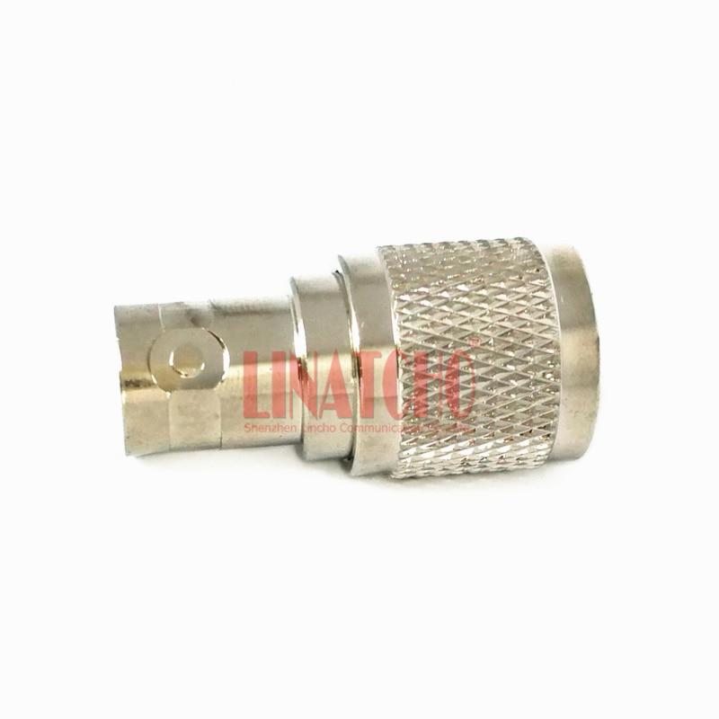 50ohm réz-nikkel-bevonó adapter csatlakozó BNC aljzat és TNC - Kommunikációs berendezések - Fénykép 6