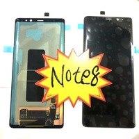 2018 Amoled для Samsung Note 8 N950F N950 ЖК дисплей + Сенсорное стекло Полный Note8 ЖК яркость можно настраивать