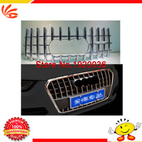 High Quality Car Front Gille Trim Auto Grille Decoration Cover Trims For Q3 Front Up Grid