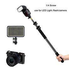 Aluminum Alloy Handheld Grip Rig Support Rod Photo Studio Ac