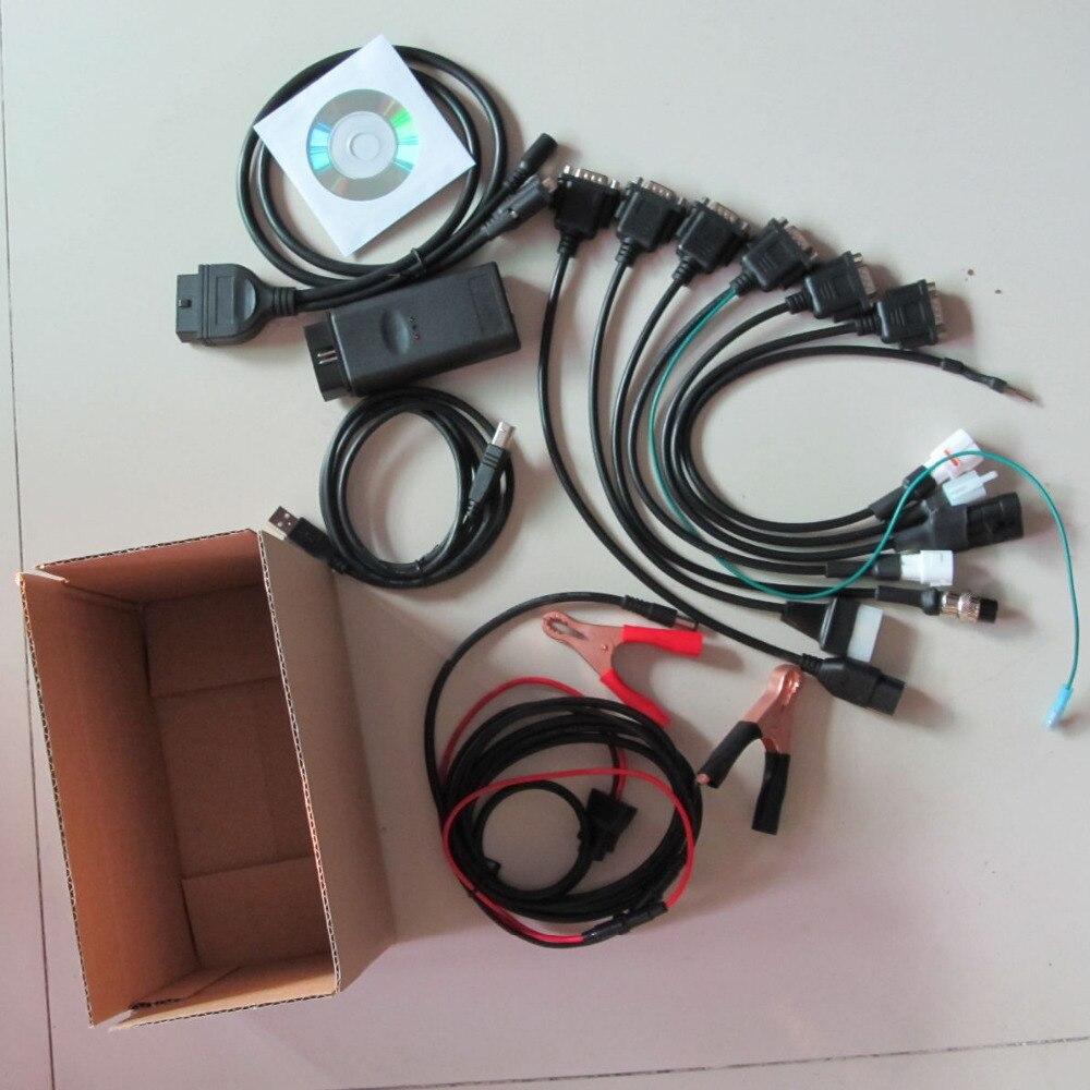 Prix pour Universelle 6in1 moteur scanner pour yamaha moto outil de diagnostic pour Suzuki SYM KYMCO HTF PGO 6 moto marques en stock