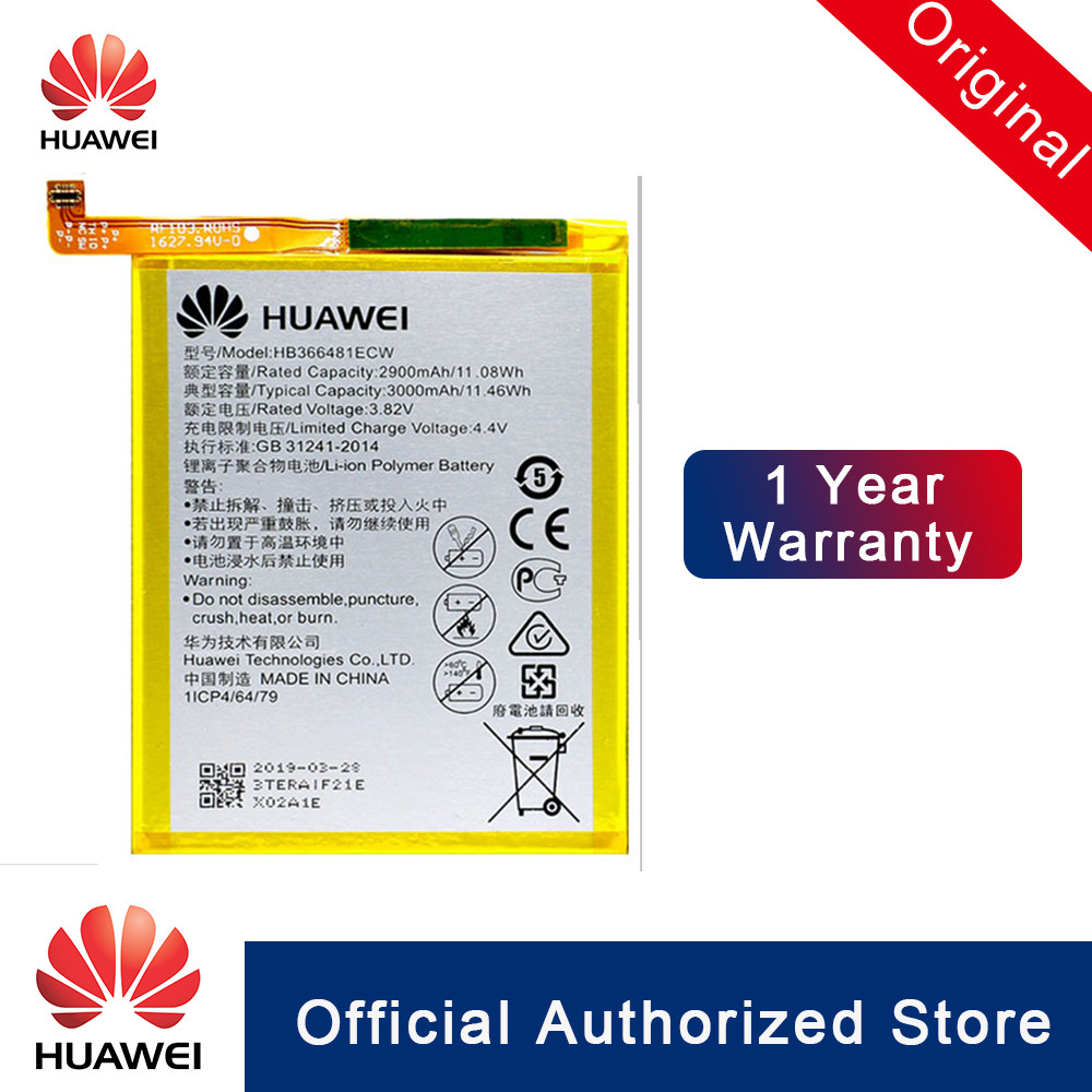 HuaWei HB366481ECW 100% Original Para Huawei honor 8/P9 Lite/G9/honor 8 lite/Ascend honor 5C P9 substituição Da Bateria Do Telefone
