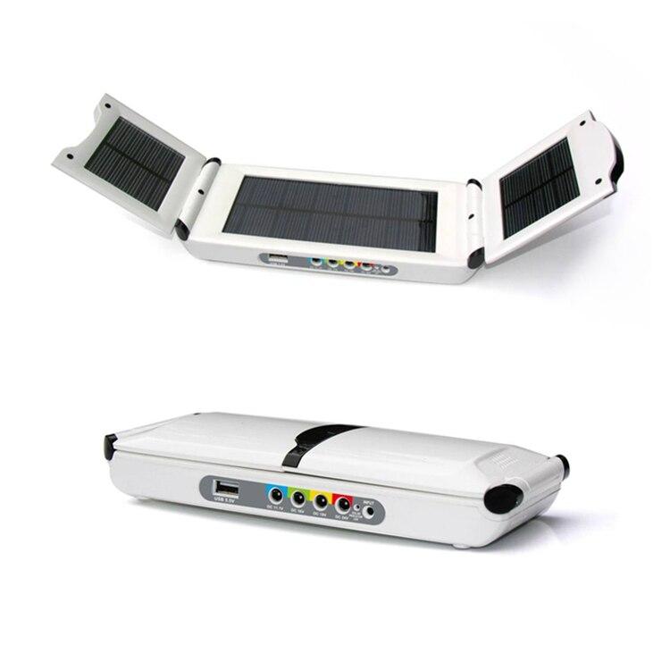 L'énergie solaire 19 V, 5.5 V, 11.1 V, 16 V, 24 V/DC 27000 MAH Au Lithium Polymère USB Batteries pour ordinateur portable/Mobile téléphone Source D'alimentation