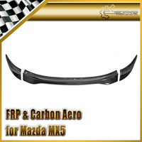 Car styling For Mazda MX5 NC NCEC Roster Miata Carbon Fiber GVN Style Trunk Spoiler (soft top only) In Stock