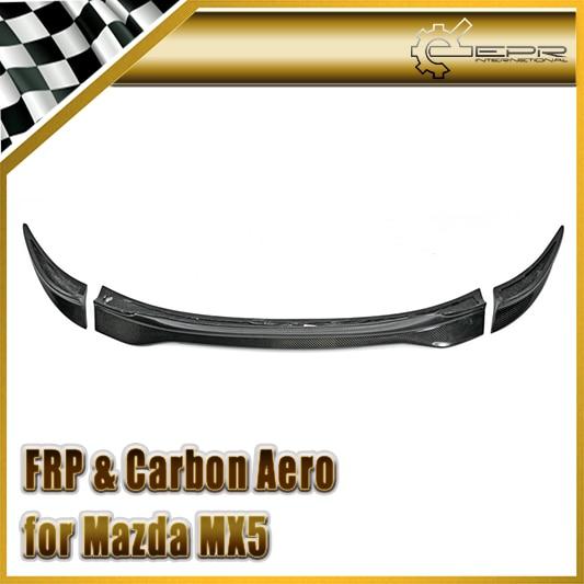 Style de voiture pour Mazda MX5 NC NCEC Roster Miata fibre de carbone GVN Style becquet de coffre (capote seulement) en Stock