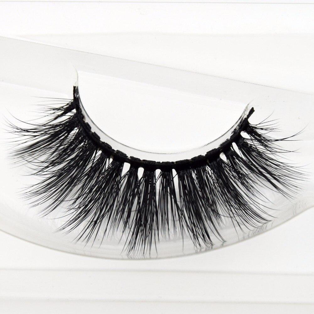 Free DHL 100pairs Visofree Faux Mink Lashes 3D Silk Eyelashes Handmade Full Strip Lashes Dramatic False Eyelashes Makeup 20style