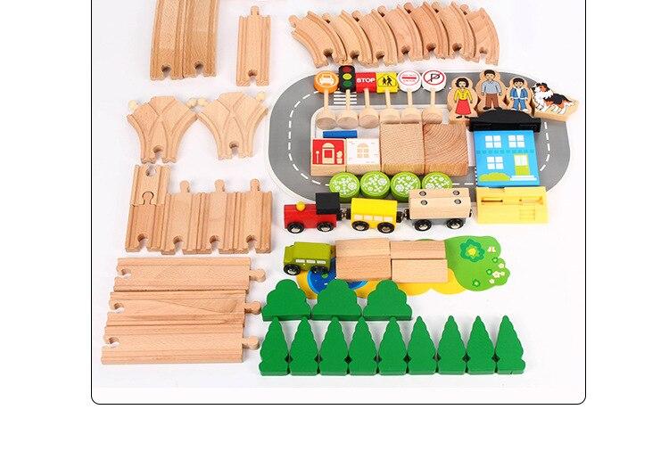 educativos para crianças 78 peças de madeira