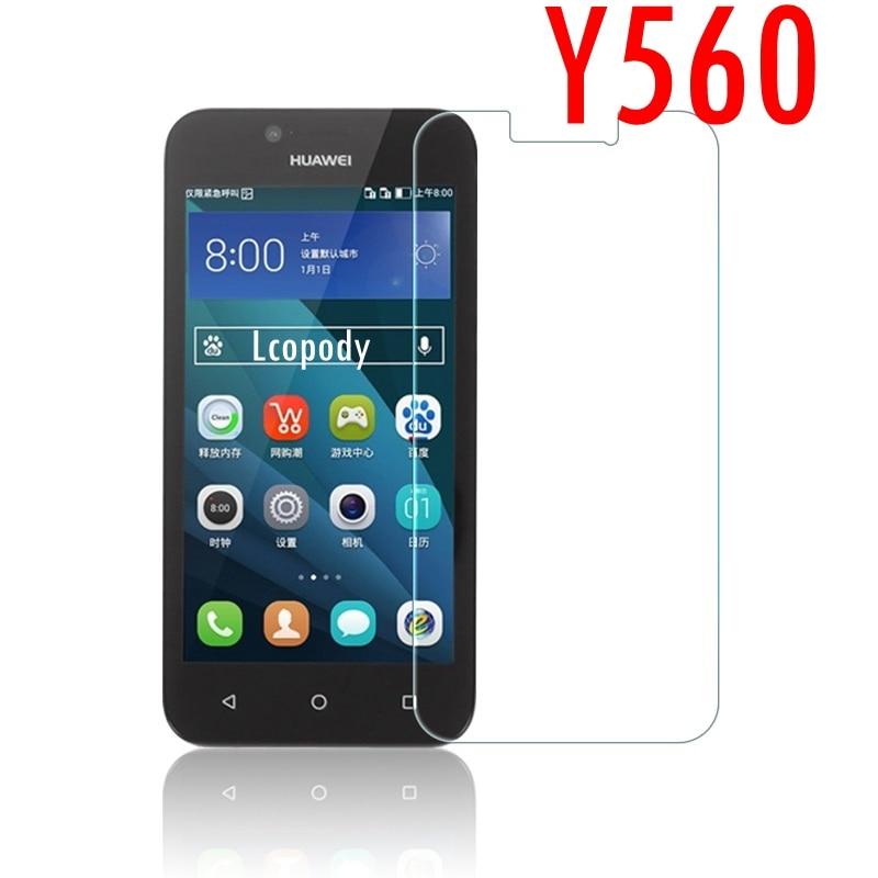 Tempered glass FOR Huawei Y560 Y 560 Y560-L01 Y5 L01 U02 Y560-U02 protector film FOR huawei mobile phone smartphone elephone